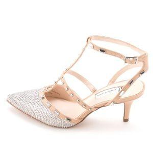 INC Sparkly Pointy Toe Heels